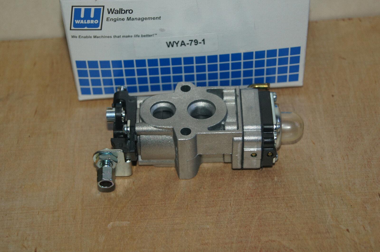 Original Walbro Cocheburador wya-79 se adapta a HUSQVARNA 150 350 sopladores y otros