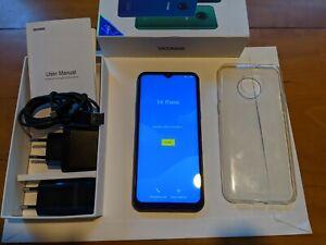 DOOGEE X95 16GB - jewelery blue (Ohne Simlock) 2GB RAM, wie neu!! Android 10 Go!