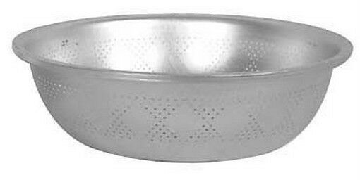 Commercial Aluminum Asian Style Colander 15in Dia #B004 S-2901