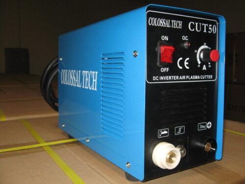 Plasma Cutter 50AMP NEW CUT50 Inverter 220V Voltage 1 Year Warranty Colossal Tec