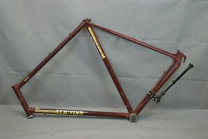 1980-Schwinn-World-Vintage-Touring-Road-Bike-Frame-63cm-XLarge-Steel-USA-Charity