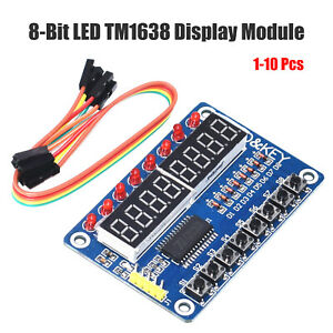 TM1638-Digitales-LED-Display-mit-8-Tastenmodul-fuer-AUR-Arduino-Raspberry-Pi-DE