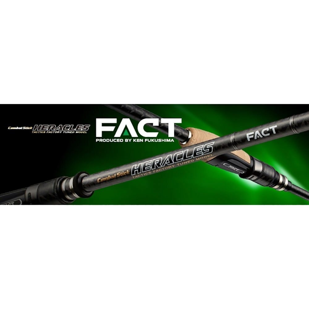 Rod Baitcast Heracles Fact HFAC 67 MHST (5627) Eververde