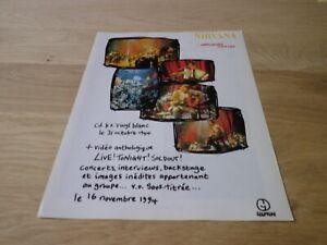 Nirvana-Unplugged-in-New-York-Originale-Vintage-French-Press-Pubblicita