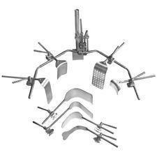 V Mueller Surgical Y Frame Horseshoe General Retractor Set Su3280 Refurbished