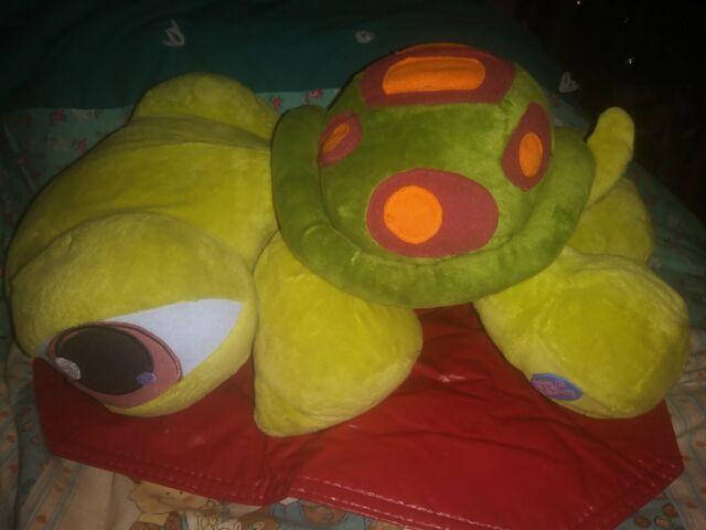Littlest Pet Shop Lps Hasbro Jumbo Turtle Plush Toy 19 2005 Stuffed Animal E6 For Sale Online Ebay