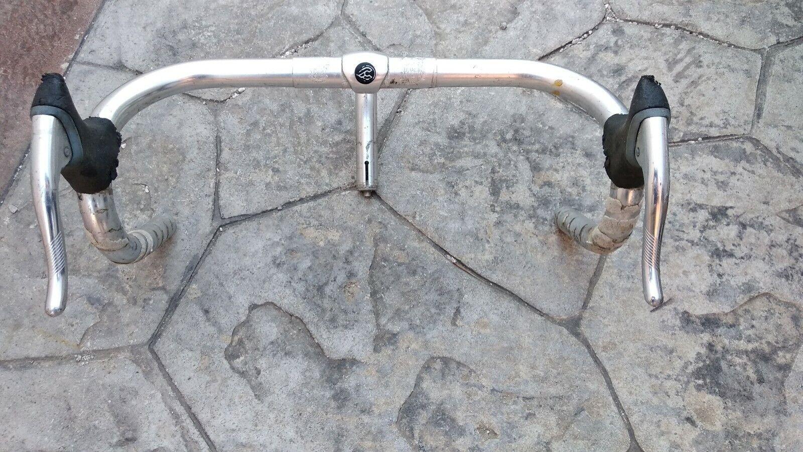 Manubrio bici corsa Cinelli MODELLO GIRO D'ITALIA LEVE SL SHIMANO