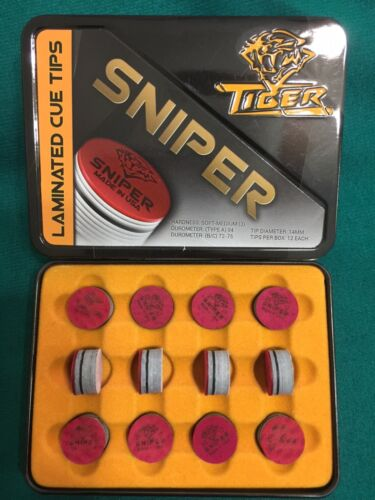 12 Genuine Tiger Laminated Sniper Tips w// FREE SHIPPING Lowest Pricing Always!