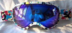NEW $120 Scott Womens Off Grid Pink Blue Red Winter Snow Ski goggles Ladies Roxy