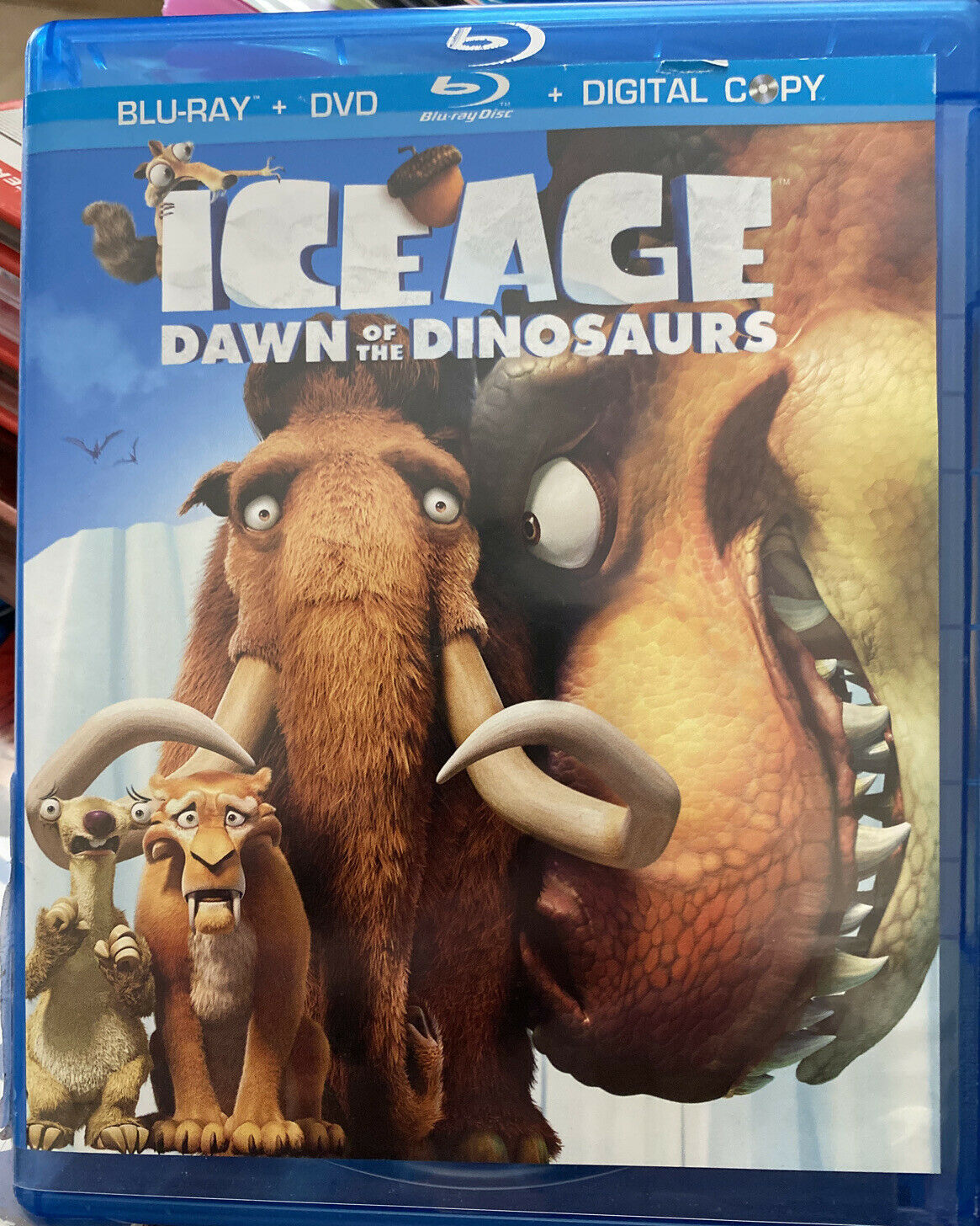 Ice Age Dawn Of The Dinosaurs Dvd Digital For Sale Online Ebay