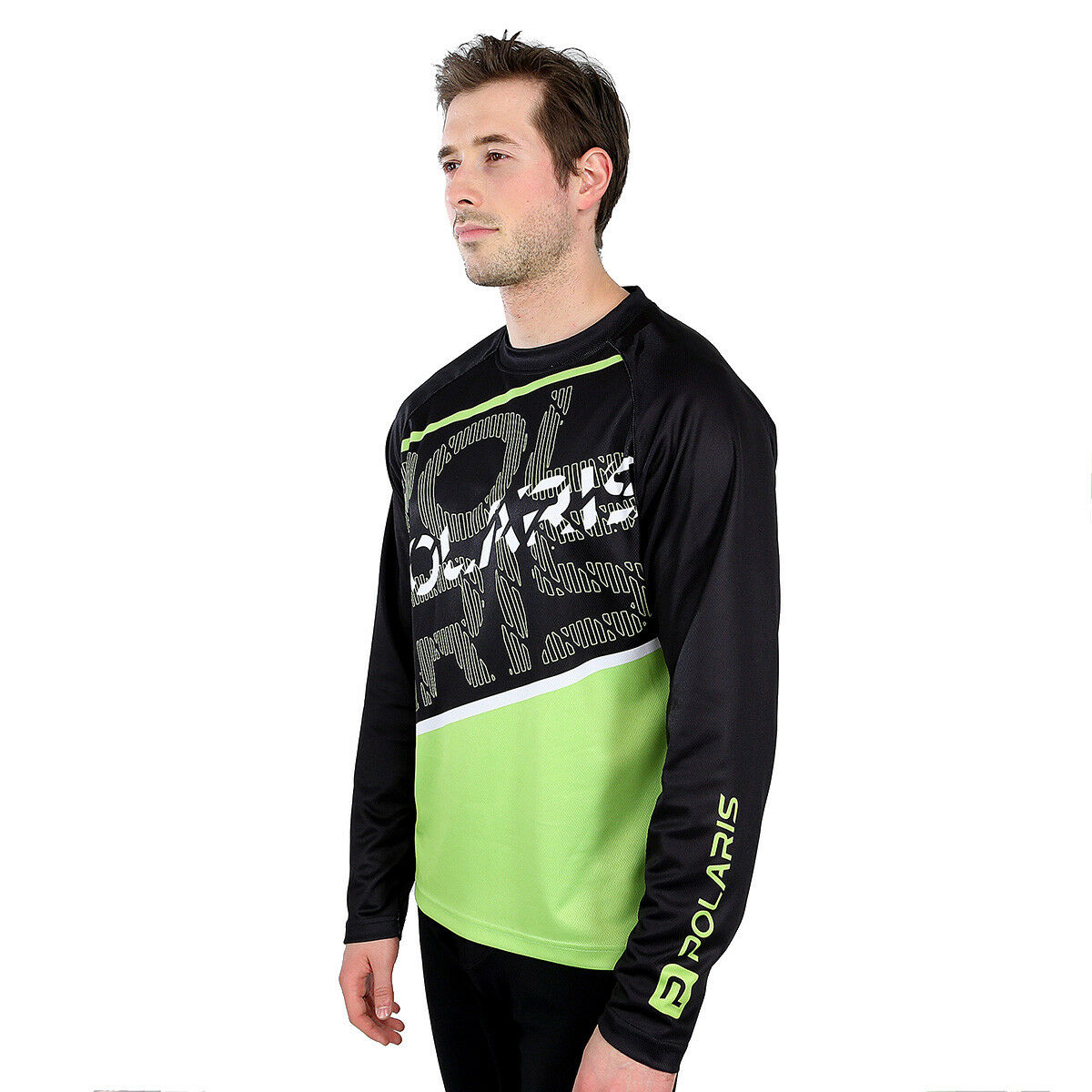 NEW POLARIS AM DEFY BIKE MOUNTAIN BIKE DEFY MTB LONG SLEEVE RELAXED FIT JERSEY 585cce