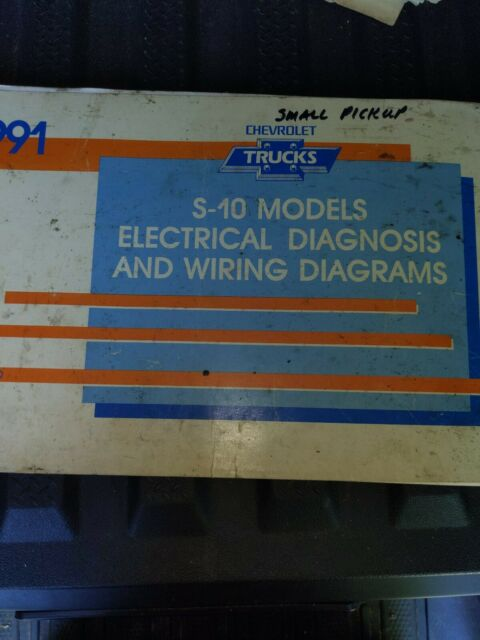 1991 Chevrolet Truck S 10 Models Electrical Diagnosis ...