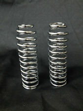 46055-30 USA Made HARLEY HD 45 61 74 UPPER OUTER CHROMED SPRINGER FORK SPRINGS