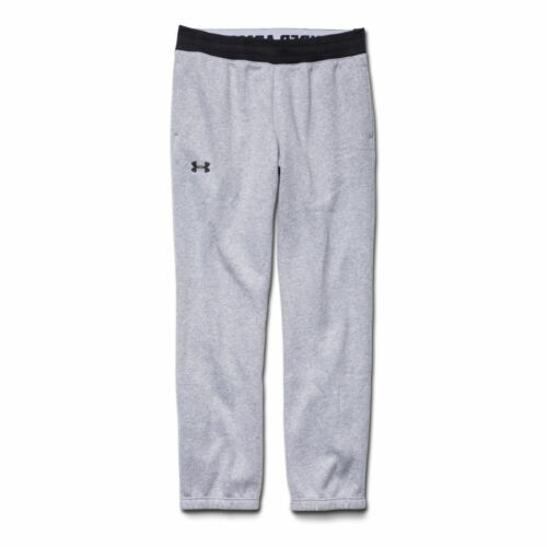 Under Armour Storm Cotton Cuffed Pant Hose Trainingshose Sporthose grau