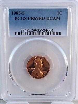 1972 S 1C Lincoln Cent PCGS PR69CAM