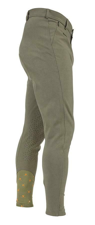 Shires Aubrion Walton Riding Breeches in Olive - Mens