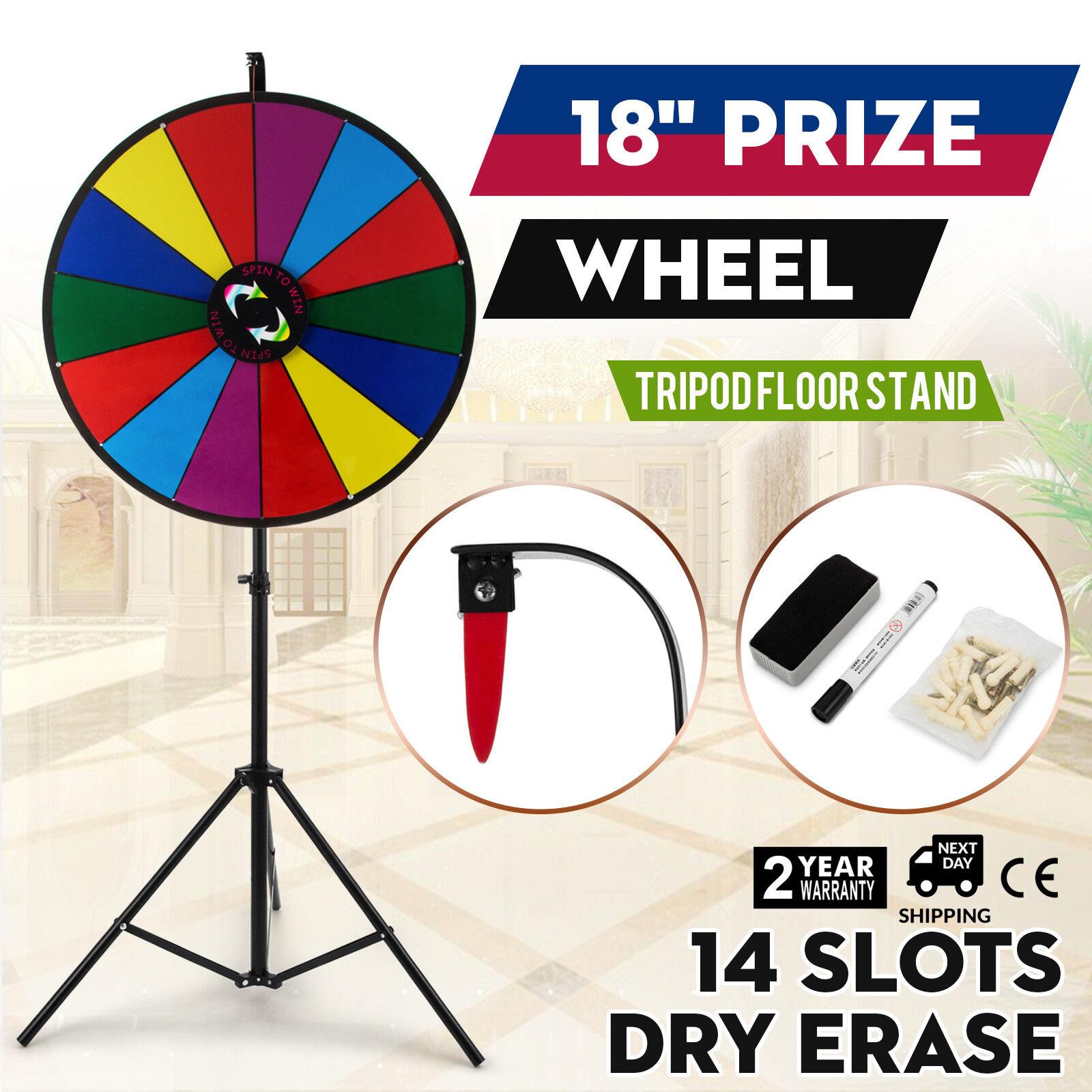18 pouces la Roue de la Fortune Farbe Prize Wheel φ46cm Fêtes VersiFarbee