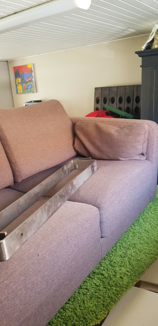 Sofa, uld, 2 pers. , ukendt
