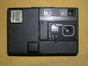 KODAK disc 2000 , Diskkamera von Eastman Kodak, black, für Sammler - <span itemprop='availableAtOrFrom'>Groß-Zimmern, Deutschland</span> - KODAK disc 2000 , Diskkamera von Eastman Kodak, black, für Sammler - Groß-Zimmern, Deutschland