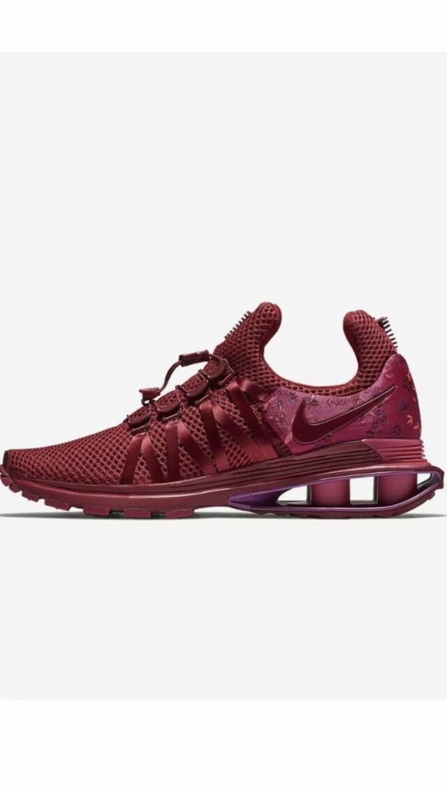 Nike Shox Gravity Womens AQ8554-606 Red Crush Wild Cherry shoes Size 8