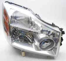 OEM 2004-2007 Nissan Titan Armada Right Halogen Headlight Head Lamp-Haze/Spots