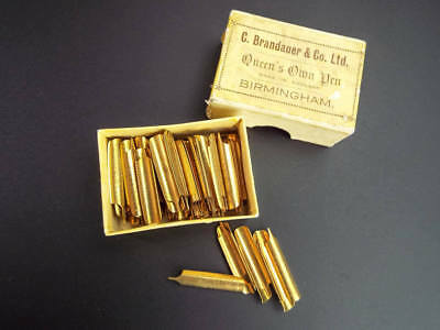 Lot of 7 VINTAGE ANTIQUE WELCOME PEN NIBS by JOSEPH GILLOTT/'S of ENGLAND