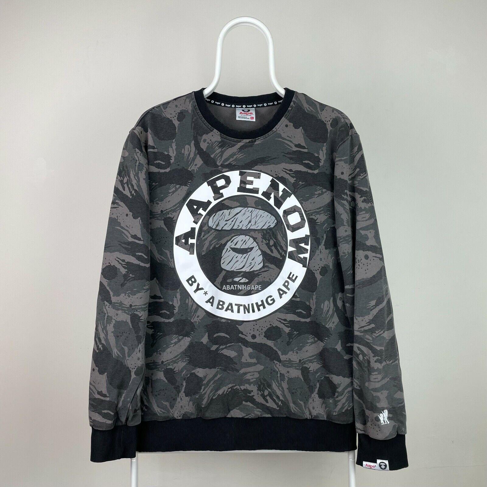 AAPE By A Bathing Ape Sweatshirt Men's XL Camo