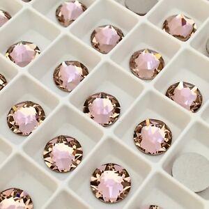 ec93a017a525 Swarovski Crystals Glue on 100x SS16 Vintage Rose Pink flatback ...