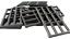 Lego 10 Stück Gitter Fenster perl dunkelgrau 92589 Kellerfenster Gefängnis Neu