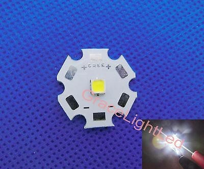 NEW Cree XLamp XP-L XPL Cool White LED 1079LM 200lm//W with 16mm Round pcb