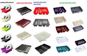 La imagen se está cargando Plastico-escurreplatos -Rack-utensilio-Cutlery-Placa-Drenante-titular- 1da5733912bd
