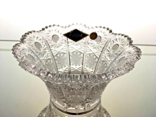 "4,5 /""Hand Cut for Caviar Sweets Nuts Dessert Bohemian Crystal Crystal Bowl D"