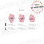 BT21-Baby-Character-Wappen-Badge-S-amp-L-Size-Official-K-POP-Authentic-Goods miniature 7