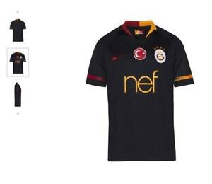 sports shoes 41e1b 3039b Details about NEW GALATASARAY GS SPORT CLUB 2018 2019 AWAY MATCH JERSEY  BLACK SHIRT ORIGINAL