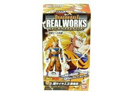 Super Saiyan Goku 3 Special Ver Bandai Dragonball Z Kai Real Works Figure