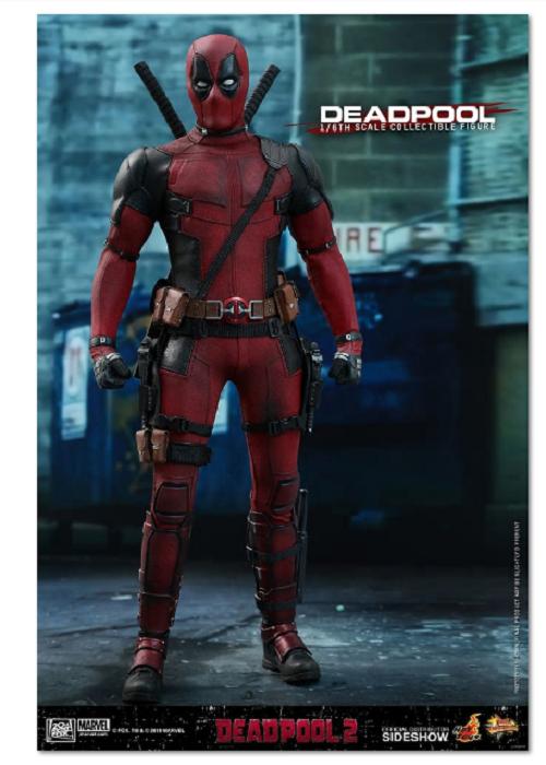 1/6 Scale Deadpool 2 Movie Masterpiece Figure Hot Toys 903587