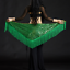 Belly-Dance-Costume-Sequins-Fringe-Triangle-Hip-Scarf-Belt-9-Colors miniature 1
