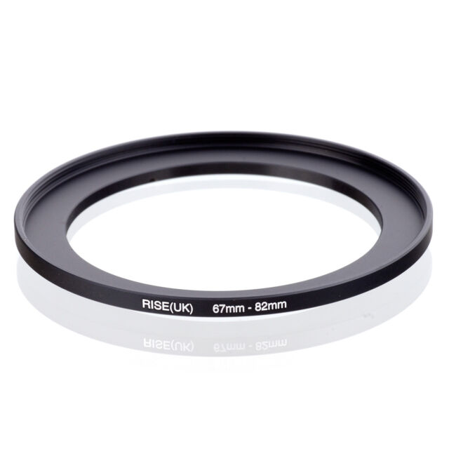 Made of CNC Machined Brass with Matte Black Electroplated Finish Breakthrough Photography 49mm to 82mm Step-Up Lens Adapter Ring for Filters