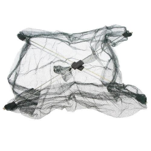 Practical Fishing Foldable Mesh Baits Trap Umbrella Cast Dip Net Crab