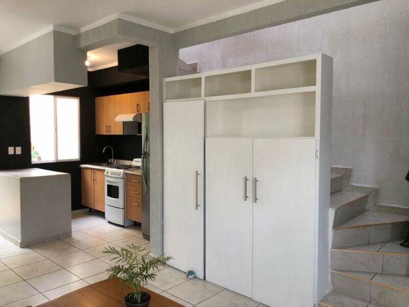 Casa Amueblada en Renta JARDINES DEL SUR 3 habitaciones opción estudio