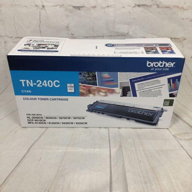 Brother TN-240C Colour Toner Cartridge Cyan New In Box 14/08/17