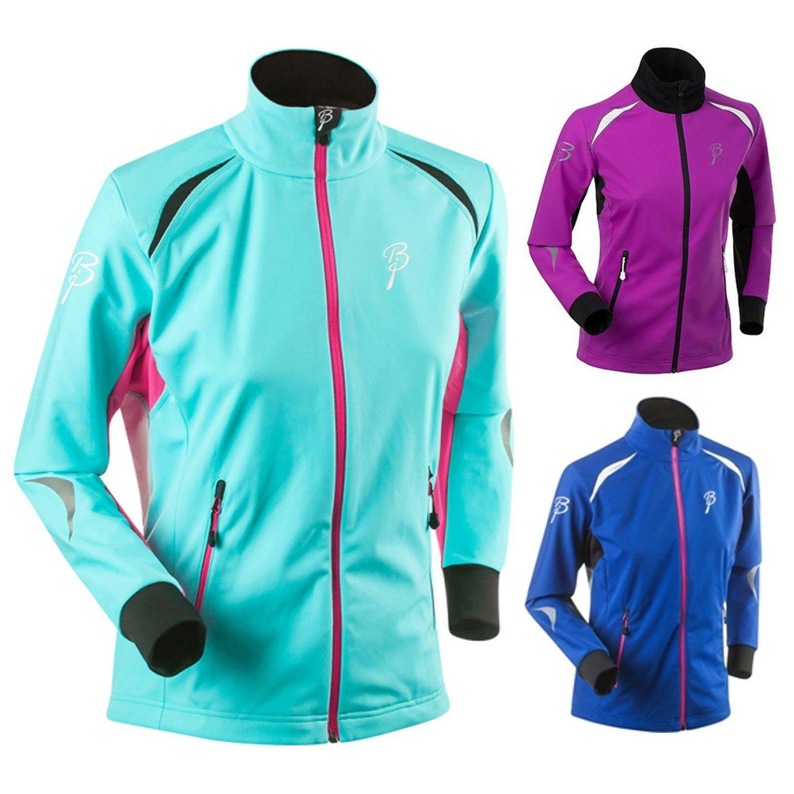 Björn Daehlie Pacer Donna Funzionale Giacca Softshell Sport Lungo Corsa Sci Outdoor
