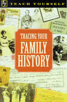"""""""AS NEW"""" Tracing Your Family History (Teach Yourself), Colwell, Stella, Book"""