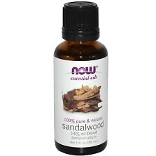 Sandalwood Oil 14% Blend, 1 oz - NOW Foods Essential Oils
