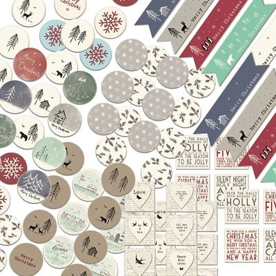 A Range Of East Of India A4 Sticker Sheets Wedding Christmas Christening