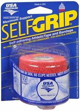 Self-Grip Self-Adhering Athletic Tape Bandage 2 Inches, Red 1 ea