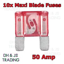 FU2-10-25 Std Blade Fuse 10amp Packed 25 Red