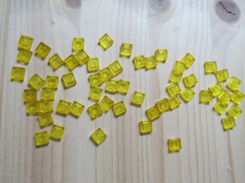 36 LEGO 3070 Fliesen Platten Steine in Trans-Gelb 324 teils neu