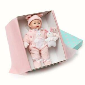 Pink-Bunny-Huggums-12-039-039-Baby-Doll-by-Madame-Alexander-New