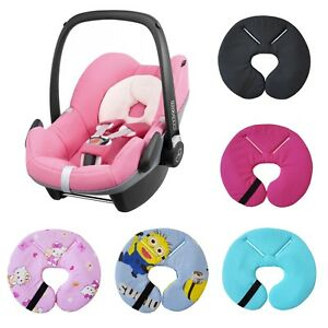 Details About Car Seat Head Hugger Support Fit Maxi Cosi Pebble Newborn Baby Headrest Pillow